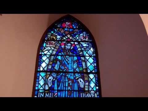 War Memorial Window Parish Church Pittenweem East Neuk Of Fife Scotland