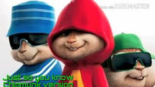 Just so you know chipmunk version