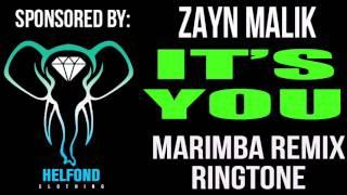 Zayn Malik It's You Marimba Remix Ringtone and Alert