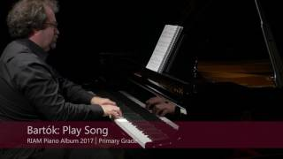 RIAM Piano Albums 2017: Primary Grade