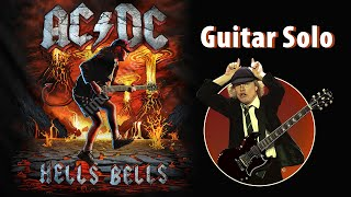 AC/DC - Hell's Bells cover (1st solo)