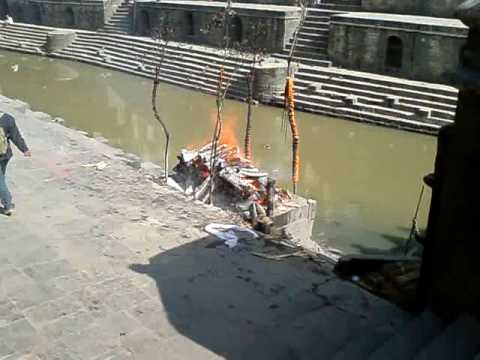 Cremation of Pashupatinath in Nepal 1
