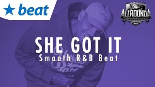 Smooth R&B Beat 2017 x John Legend Type Instrumental 2017 - SHE GOT IT - Free DL