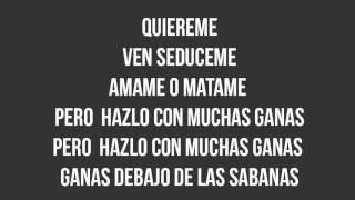 Don Omar ft. Ivy Queen - Amame o Matame (Letra)(Sociedad Secreta)(Estreno2017)