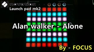Alan Walker - Alone Launchpad MK2 cover