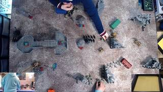 Learning 40K (Help Us) - Necrons vs Tyranids Game 2