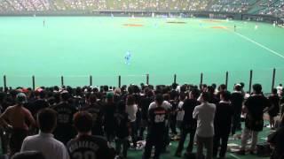 2007/7/10グッドウィルドーム ロッテ 応援 塀内 TSUYOSHI
