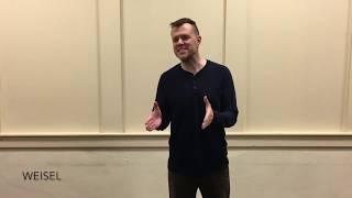 Wes Webb – Newsies audition reel (Weisel, Snyder, Jacobi)