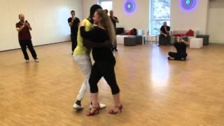 Maria & Arnold - Semba Workshop in Sabura Festival 2015 Karlsruhe