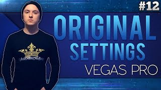 Sony Vegas Pro 13: How To Reset Sony Vegas To Its Original Settings - Tutorial #12