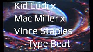 "Kid Cudi x Mac Miller x Vince Staples Type Beat ""One Night in Wonderland"" | Prod. Uncivil Beats 2017"
