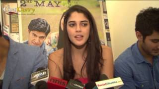 Cast Interview Of Purani Jeans | Tanuj Virwani, Izabelle Leite & Aditya Seal