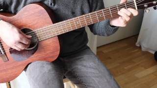 If you could read my mind - Fingerstyle Guitar - Sigma 000M-15