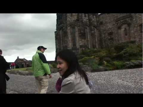 Anne Loft ทัวร์อังกฤษ Edinburgh Castle 03