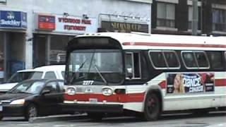 TTC Hillcrest graveyard + live buses
