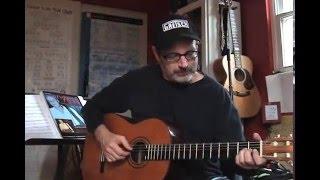 Sambalamento by Luiz Bonfa cover version classical guitar