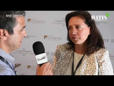 MTF 2017 : Laila MAMOU, Président Directeur Général d'INJAZ Al-Maghrib