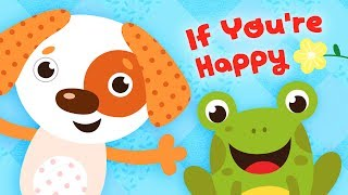 If You're Happy and You Know It - Children's Song with Lyrics - Nursery Rhymes