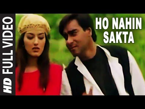 Ho Nahin Sakta [Full Song] | Diljale | Ajay Devgn, Sonali Bendre ...