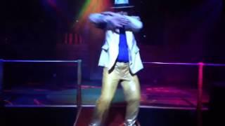 Marvin Jackson smooth criminal live performance