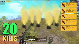 THEY HACKED FLARE GUNS | SOLO VS SQUAD | PUBG MOBILE