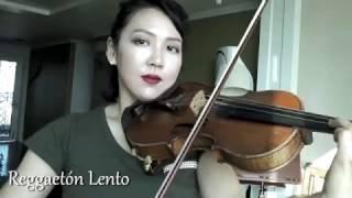 CNCO- Reggaeton Lento(Violin cover by Ellen Wie)Latin Music