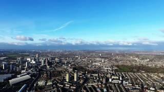 East London 4k High altitude
