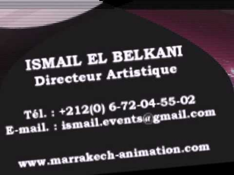 MARRAKECH ANIMATION carte visite