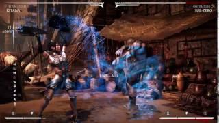 Mortal Kombat X:KITANA DB2 BnB?