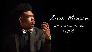 Zion  Moore Live @ Fredrick Douglass HS ALL I Want To Be