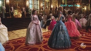 "Once Upon A Time 6x03 Snow & Cinderella at the Royal Ball  ""The Other Shoe"" HD"