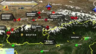 India China Border Dispute - India destroys illegal Chinese road and raises standoff troops