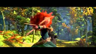 Brave - Touch the Sky (EU Portuguese) *Lyrics* HD