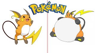 Pokemon Characters As Fat