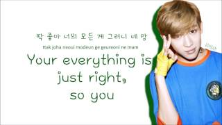 GOT7 - Just Right (Color Coded Lyrics: Hangul, Romaji, English)