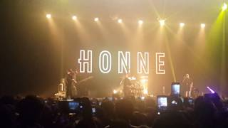 20161119 HONNE 혼네 _ Warm on a cold night_in Korea yes 24 live hall concert