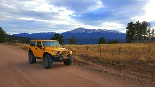 Rampart Range Easy Offroad Trail - Colorado