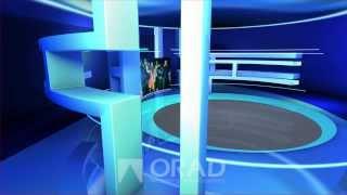 Orad's virtual studio set: MoneyTime Set
