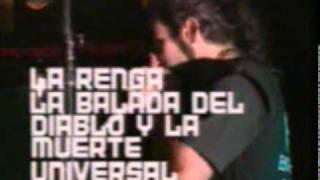 La Renga - Balada del diablo y la muerte (En vivo Huracan 2001)