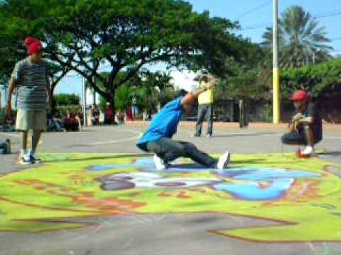 B Boy Nicaragua – Bboy-Chikano (OSBC) Vs Bboy-Bryan (NLC)