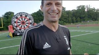 Juventus Foot Darts Challenge   #CONTAJUS