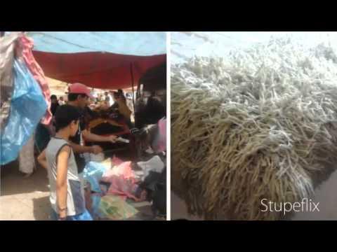 Morocco Shopping  – Vintage Handira Wedding Blankets, Carpets & Poufs