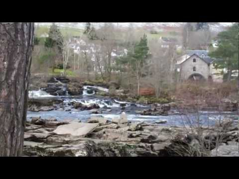 Falls of Dochart – Killin Scotland Part 1 – 3rd April 2012.MP4