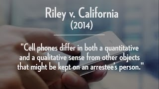 No More Warrantless Cell Searches, Unless You Consent