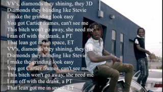 Rich The Kid 'VVS' Lyrics x Famous Dex x Jay critch