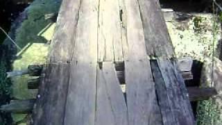 Ponte que Ballança, passando de MOTO
