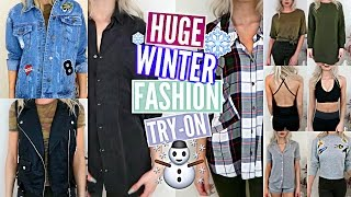 HUGE Winter Fashion TRY-ON Haul: 50+ ITEMS! *TRENDS YOU NEED TO KNOW*