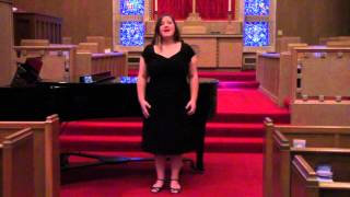 It Was a Lover and His Lass by Roger Quilter. Performed by Madison Green.