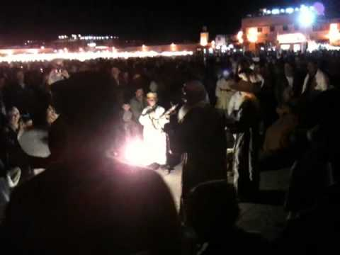 Morocco 2010 Video Diary – Video 9 – Djemaa El Fna At Night