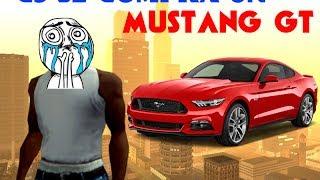 GTA San Andreas Loquendo - CJ se compra un mustang de un tipo de la calle
